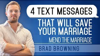 4 Text Messages to Save Your Marriage