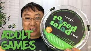 Adult Only Game! The Tossed Salad Party Game Review