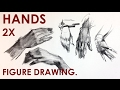 How to Draw Hands for Figure Drawing.