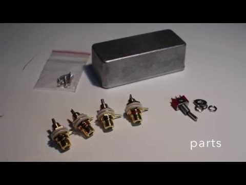 Mono/Stereo Switch Box Build