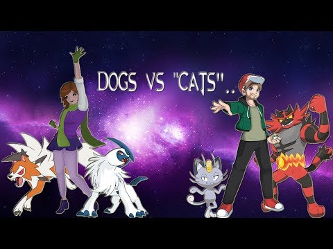 Dogs VS 'Cats' Theme Battle - Pokemon Battle with EliteTrainerHugo