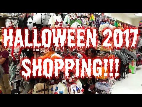 Halloween 2017 Shopping (Spirit, Party City, etc.)