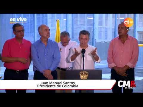 'Ese no es el espíritu de paz que necesitamos': Santos frente a tensión entre C. Democrático y Farc