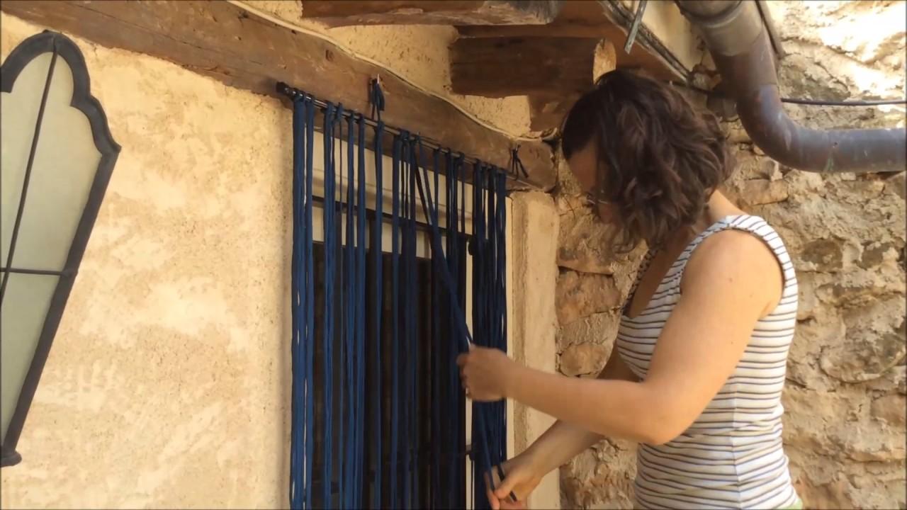 C mo hacer cortinas trapillo aprende a realizar esta - Como hacer trapillo ...
