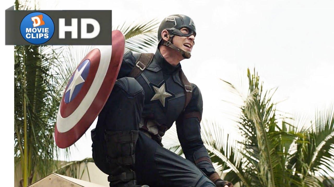 Download Captain America: Civil War Hindi (01/14) Starting Action Scene MovieClips