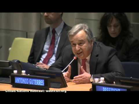 Opening remarks by Mr  António Guterres - other file has better sound