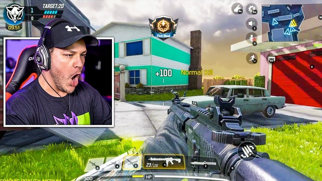First Time Playing Call Of Duty Mobile...And I Cheat?! -