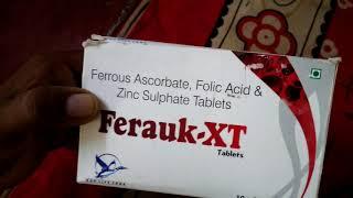 Ferrous ascorbate, Folic acid & Zinc sulphate er kaj ki