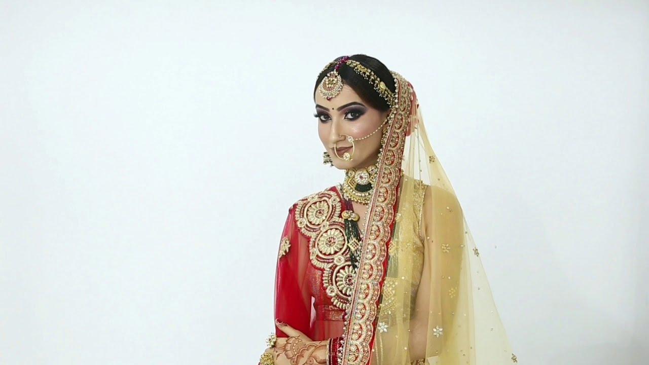 Modern bridal makeup || midas makeup studio || by ankit singh