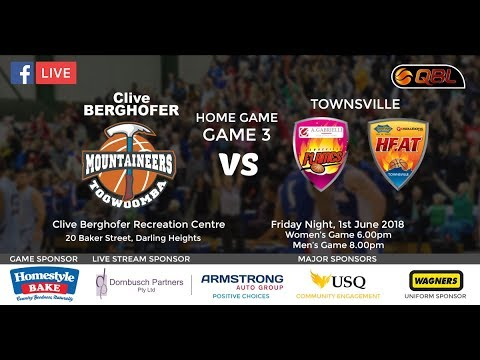 USQ Live Stream QBL Home Game 3 - Mountaineers vs Townsville
