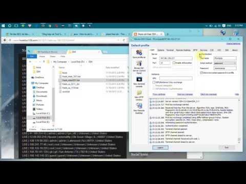 Hướng dẫn Fake IP qua SSH bằng Proxifier và Bitvise SSH Client
