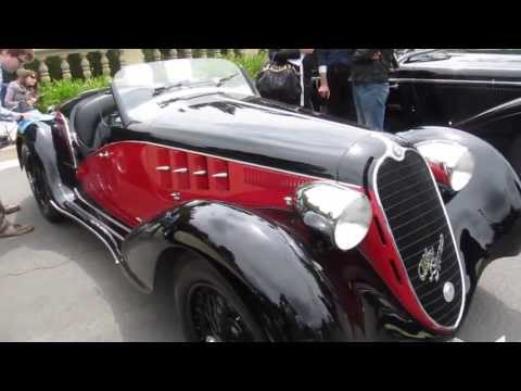 1939 Alfa Romeo 6C 2500 SS Corsa on Beverly Hills Concours d