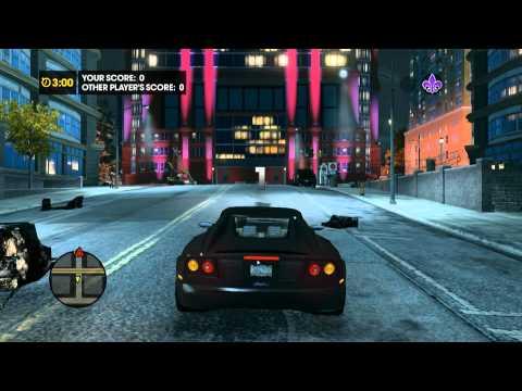 Saints Row The Third Co-op epic 1v1 mission 1080p HD