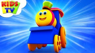 Bob The Train Non Stop | Nursery Rhymes | Kids Songs For Children