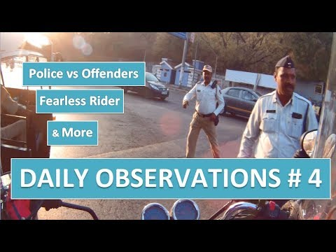 PUNE | Daily Observations # 4 | Police vs Offenders | Fearless Rider on Death Wish