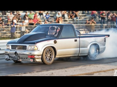 Street Outlaws SONOMA - Procharged BIG BLOCK!