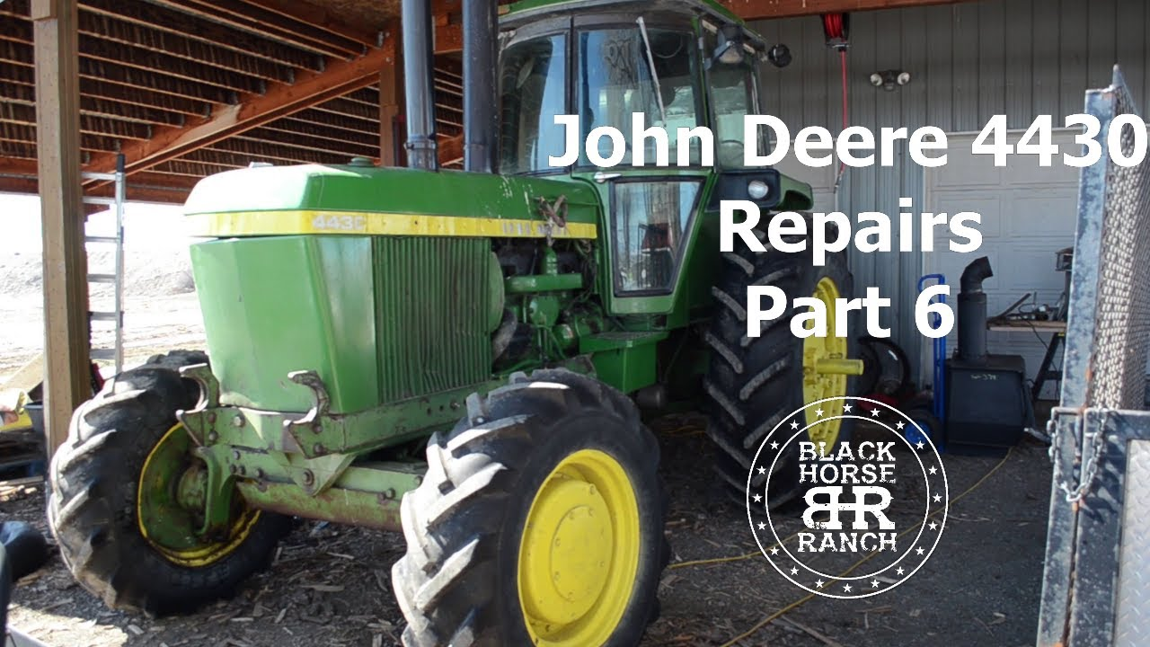 John Deere 4430 Repairs - Part 6, Over pressure issue causing rockshaft leak