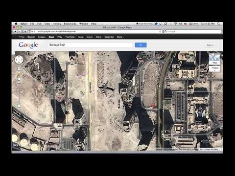 Google maps weird location - Bahrain