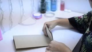 Easy DIY Paper Bag for Gift using Nasi Lemak wrappers