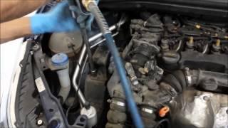 VideoTutorial HD | Cambio Aceite + Filtros Citroen C4 1.6 HDI 9HZ 1ª Parte