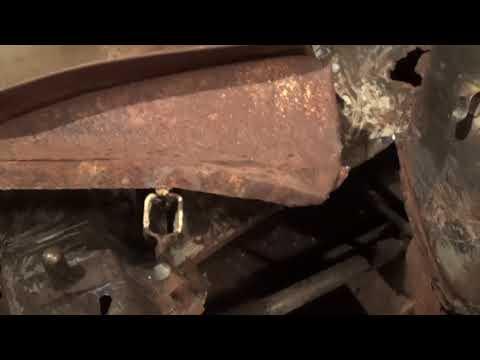 Реставрация (кузовной ремонт) ВАЗ 2106 в гараже, часть восьмая - снял крыло, дефектовка арки