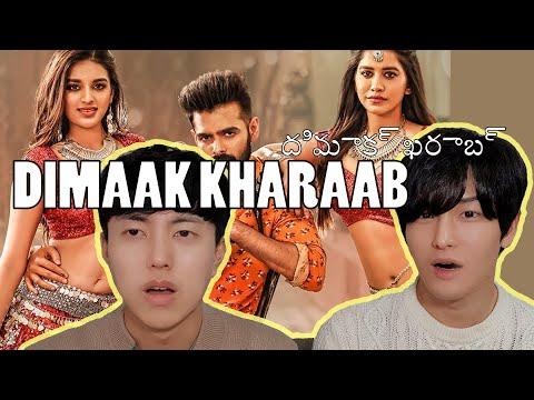 Dimaak Kharaab Reaction By Korean Dost   ISmart Shankar   Ram, Nidhhi Agerwal & Nabha Natesh