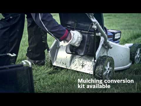 Bosch Professional Cordless Garden Tools – Lawnmowers (Mulching Blade)