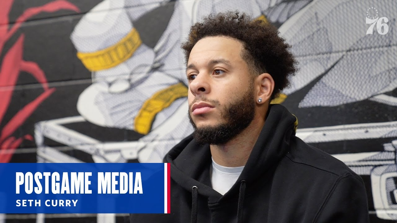 Seth Curry | Postgame Media vs Washington Wizards (01.06.21)
