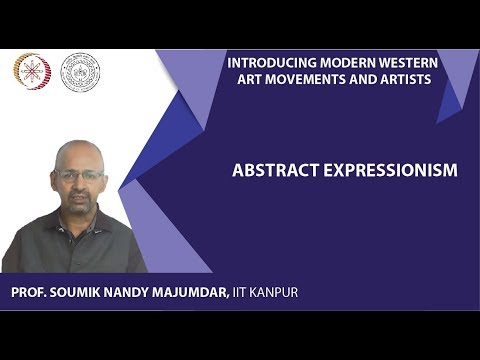Lecture-17: Abstract Expressionism