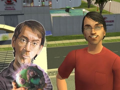 Will Wright (The Sims) Inventing the Future of Games (2011, 1080p HD)
