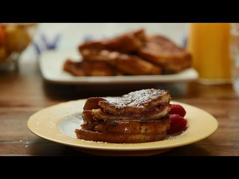 How to Make Raspberry Cheesecake Stuffed French Toast | Brunch Recipes | Allrecipes.com