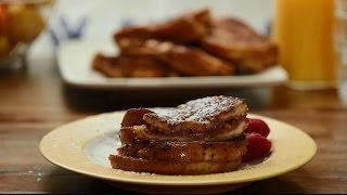 Brunch Recipes - How To Make Raspberry Cheesecake Stuffed French Toast