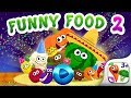 FUNNY FOOD 2! Educational Games for Kids Toddlers! (EN) / English Games