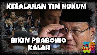 Kesalahan Sepele Tim Kuasa Hukum 02 Yang Mampu M3m4(t)1k4n Prabowo-Sandi!