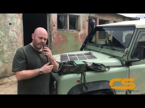Comms Spec VHF/UHF Manpack Prototype Man Portable Military Radio