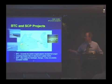 The Globalization of Energy Resources: Tapping Caspian Oil and Gas; Oct 19, 2006