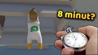 Jak przejść HUMAN FALL FLAT w 8 minut? - Na żywo