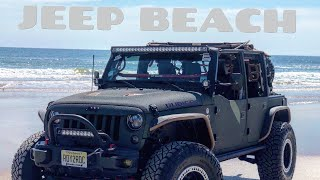 Jeep Beach 2018 in my Jeep Wrangler Rubicon!