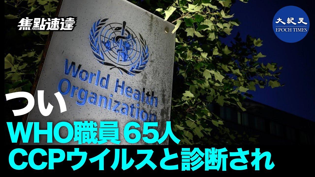 中共ウイルスと診断された65人のWHO職員