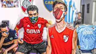 Reacciones de Amigos | River vs Nacional | Cuartos IDA Copa Libertadores 2020