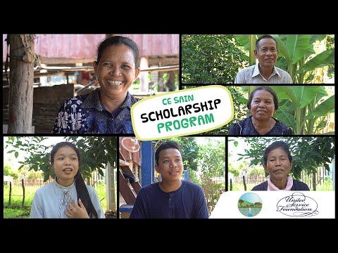 CE SAIN/USF Scholars in Kampongthom province