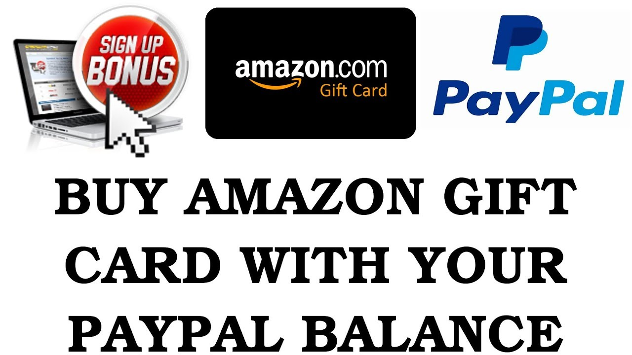 buy amazon gift card with paypal balance my gift card supply review youtube. Black Bedroom Furniture Sets. Home Design Ideas