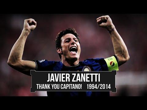 Javier Zanetti ● Summary Trajectory ● 1994-2014 | HD