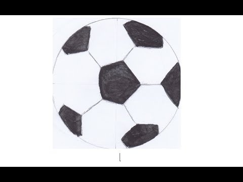 Cara Menggambar Bola Dengan Pensil Dengan Mudah