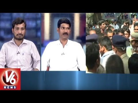 Special Debate On Cab Drivers Hunger Strike Protest Uber & Ola || V6 News