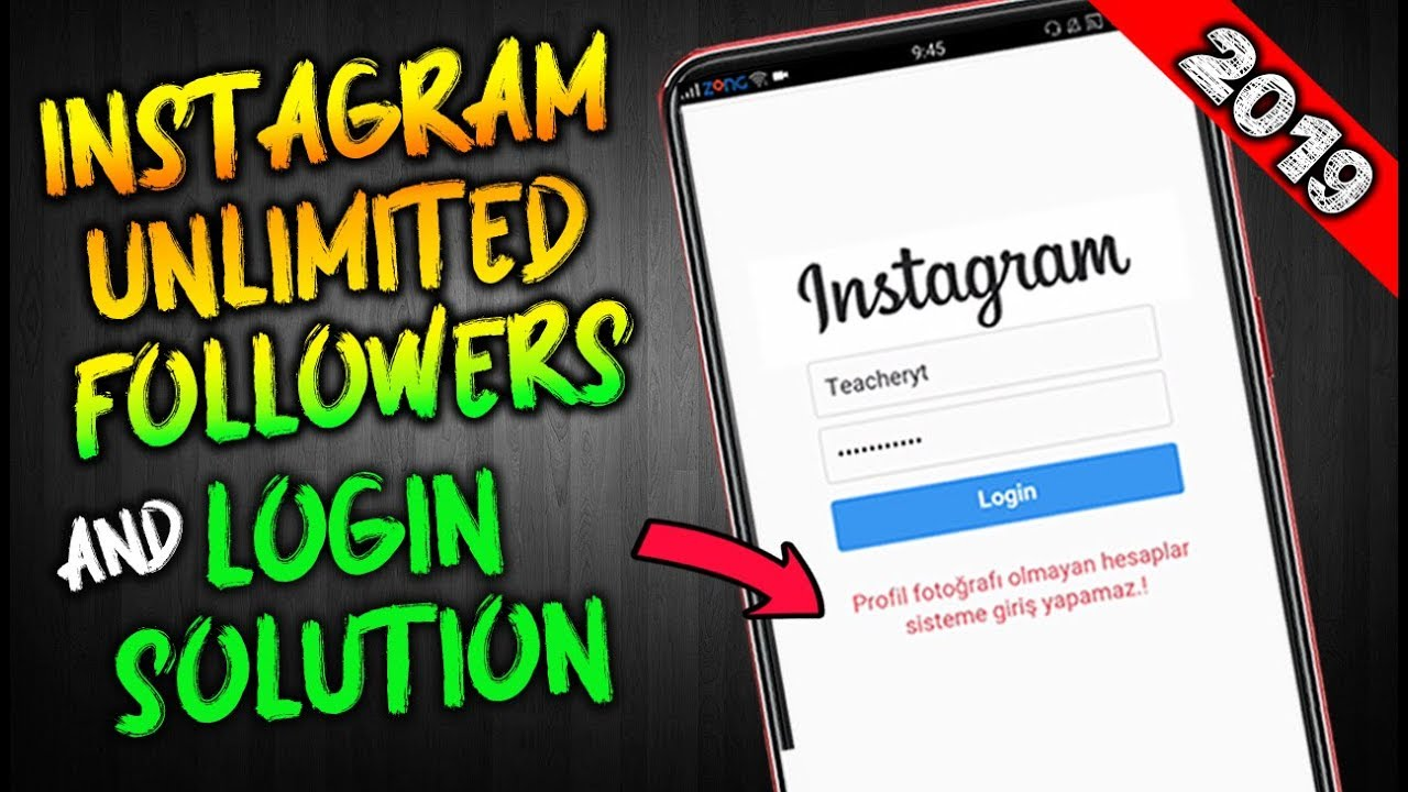 Get 500 FREE instagram followers every hour 2019 | Instagram Followers  website login problem solve