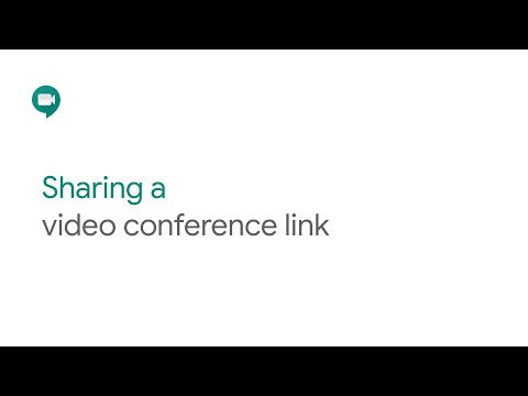 Share Google Meet URL