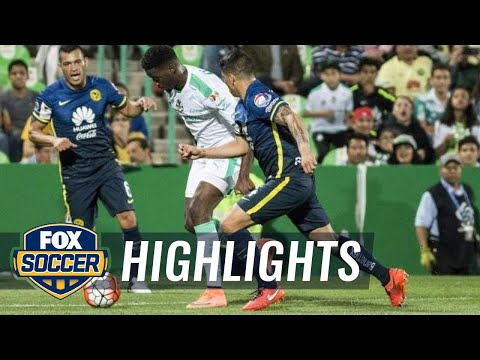 Santos Laguna vs. Club America | CONCACAF Champions League Highlights