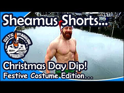 Sheamus Shorts: Christmas Day Dip in a Lake in Nashville Tennessee...