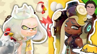 THEY BREAK THE 4TH WALL! Chicken VS Egg Splatfest Splatoon 2 REACTION